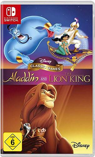 Disney Classic Games: Aladdin & König der Löwen [Nintendo Switch]