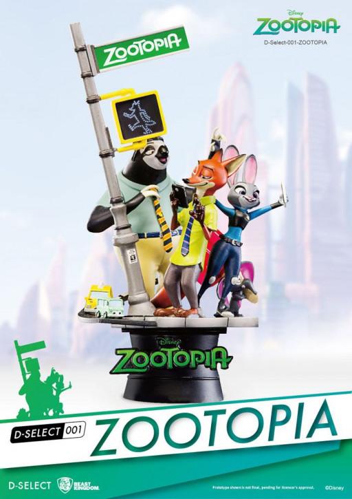 Disney: Diorama Select 1 - Zoomania