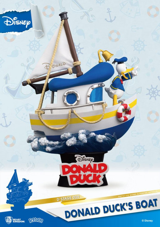 Disney: Diorama Stage 29 - Donald Duck's Boot