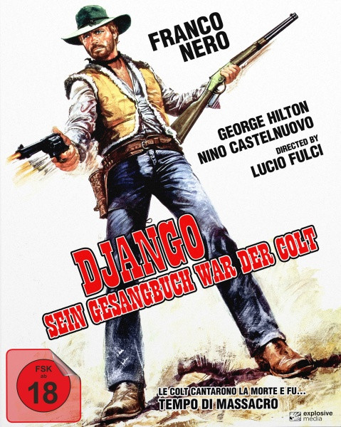 Django - Sein Gesangbuch war der Colt - Mediabook - Cover A [Blu-ray+DVD]