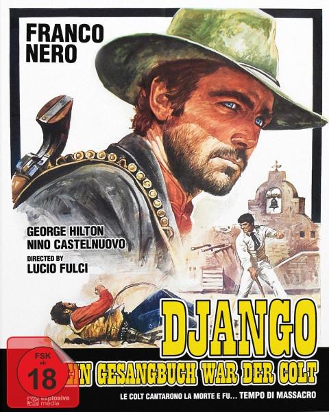 Django - Sein Gesangbuch war der Colt - Mediabook - Cover B [Blu-ray+DVD]