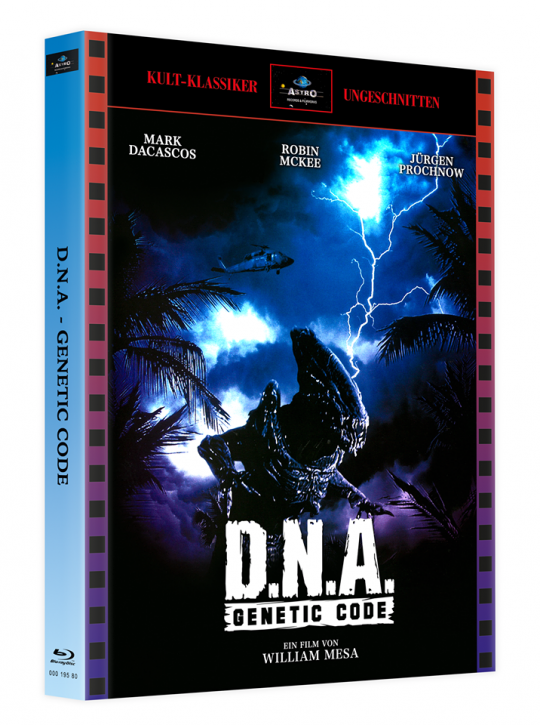 D.N.A. - Genetic Code - Mediabook - Cover A [Blu-ray]