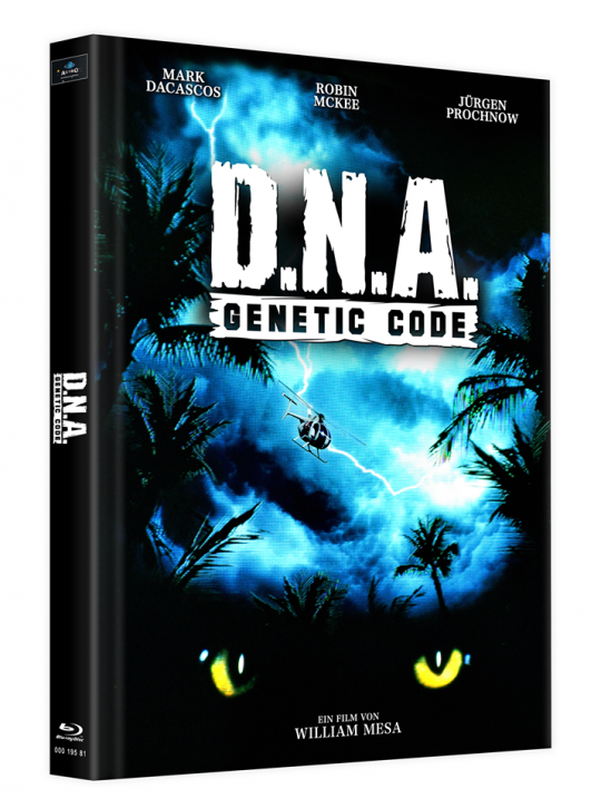 D.N.A. - Genetic Code - Mediabook - Cover B [Blu-ray]