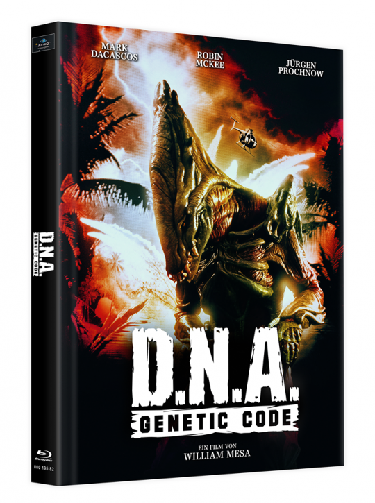 D.N.A. - Genetic Code - Mediabook - Cover D [Blu-ray]