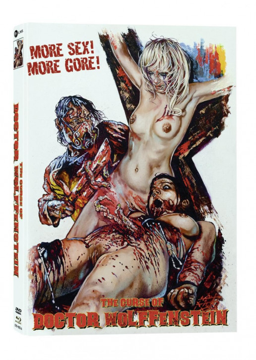 The Curse of Doctor Wolffenstein- Limited Mediabook Edition - Cover A [Blu-ray+DVD]