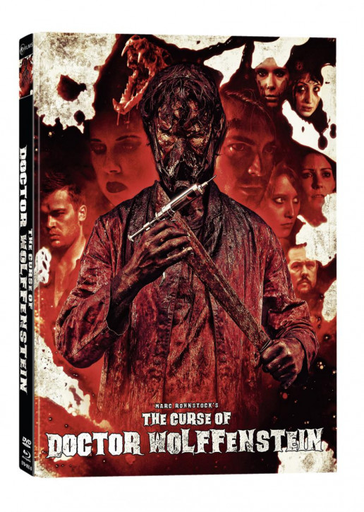 The Curse of Doctor Wolffenstein- Limited Mediabook Edition - Cover B [Blu-ray+DVD]