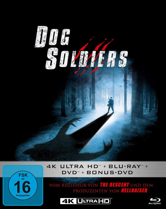 Dog Soldiers - Mediabook [4K Ultra HD+Blu-ray+DVD]