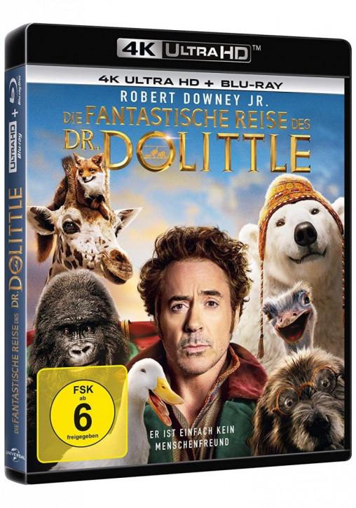 Die fantastische Reise des Dr. Dolittle [4K UHD+Blu-ray]