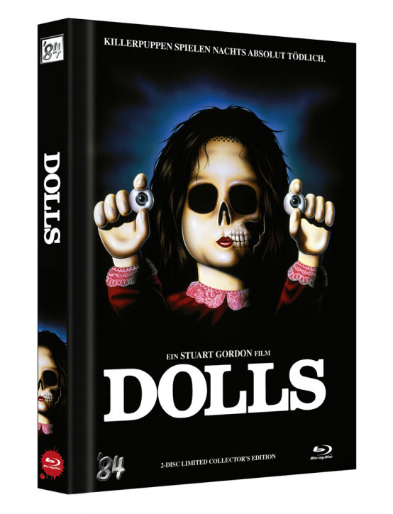 Dolls - Killerpuppen spielen nachts absolut tödlich - Limited Collector's Edition - Cover A [Blu-ray+DVD]