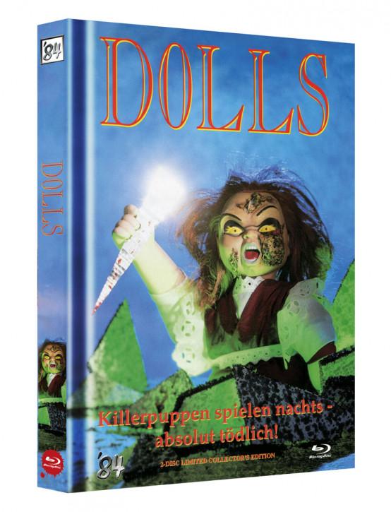 Dolls - Killerpuppen spielen nachts absolut tödlich - Limited Collectors Edition - Cover B [Blu-ray+DVD]