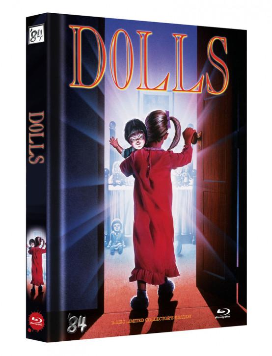 Dolls - Killerpuppen spielen nachts absolut tödlich - Limited Collectors Edition - Cover D [Blu-ray+DVD]