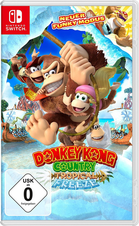 Donkey Kong Country Tropical Freeze [Nintendo Switch]