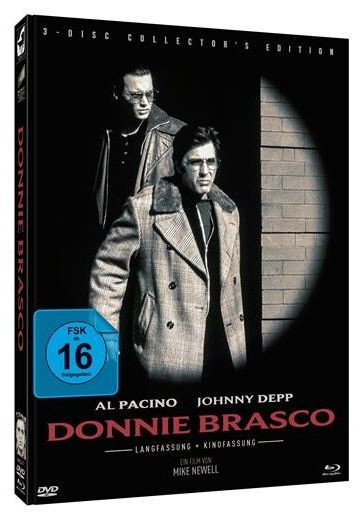 Donnie Brasco - Limited Mediabook Edition - Cover A [Blu-ray+DVD]