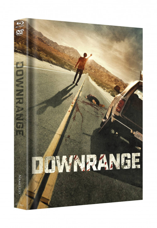 Downrange - Limited Mediabook Edition - Cover A [Blu-ray+DVD]
