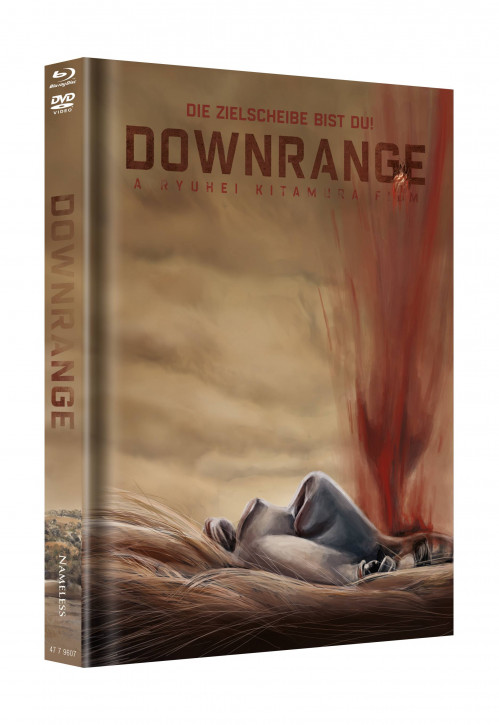 Downrange - Limited Mediabook Edition - Cover B [Blu-ray+DVD]