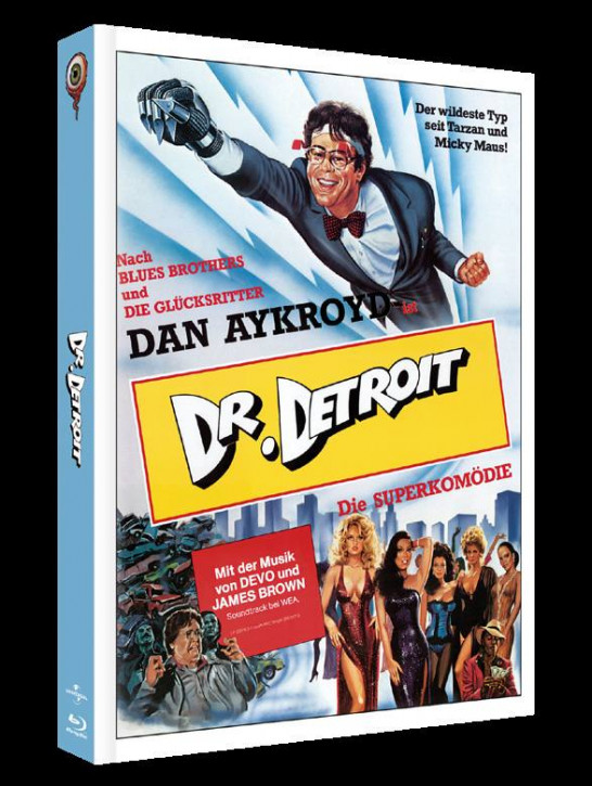 Doctor Detroit - Limited Collectors Edition Cover A [Blu-ray+DVD]