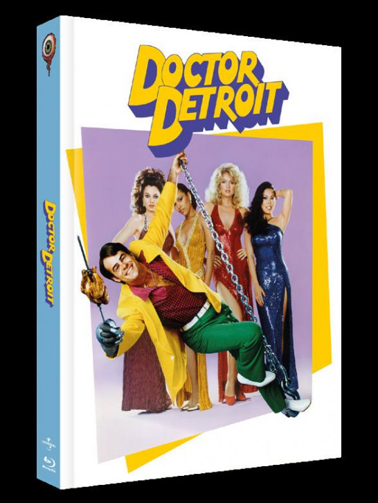 Doctor Detroit - Limited Collectors Edition Cover C [Blu-ray+DVD]