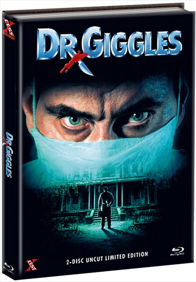 Dr. Giggles - Mediabook - Cover A [Bluray+DVD]