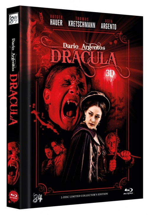 Dario Argento's Dracula - Limited Collector's Edition - Cover A [Blu-ray+DVD]