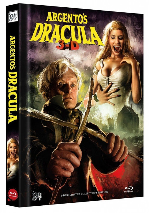Dario Argento's Dracula - Limited Collector's Edition - Cover C [Blu-ray+DVD]