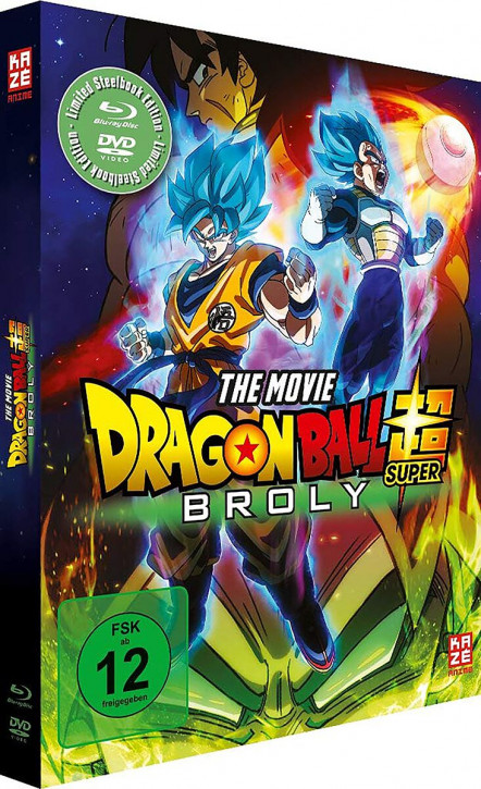 Dragon Ball Super: Broly (Steelbook) [Blu-ray]
