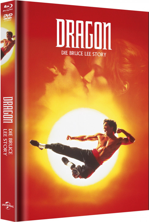 Dragon – Die Bruce Lee Story - Limited Mediabook Edition - Cover A [Blu-ray+DVD]