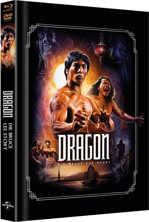 Dragon – Die Bruce Lee Story - Limited Mediabook Edition - Cover B [Blu-ray+DVD]