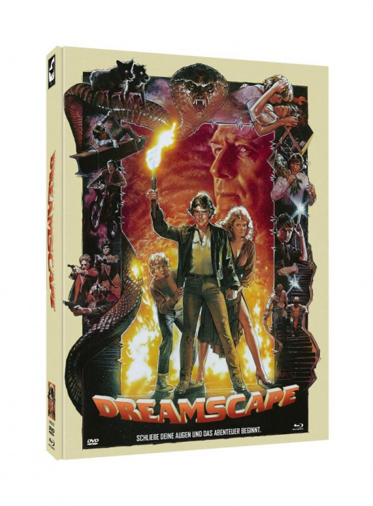 Dreamscape - Limited Mediabook Cover A [Blu-ray+DVD]