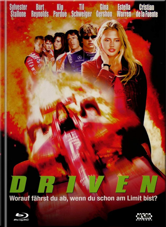 Driven - Mediabook - Cover C [Blu-ray+DVD]