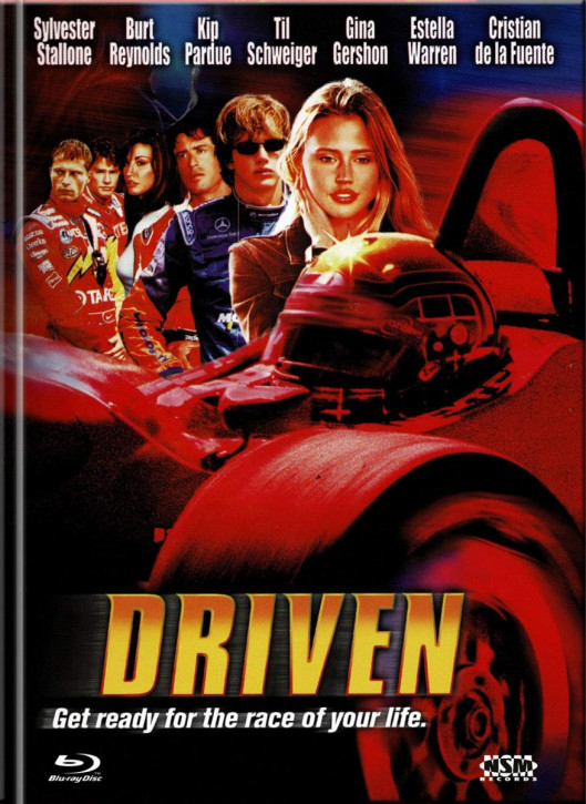 Driven - Mediabook - Cover D [Blu-ray+DVD]