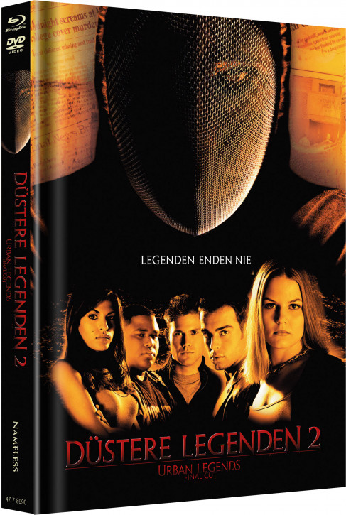 Düstere Legenden 2 - Limited Mediabook Edition - Cover A [Blu-ray+DVD]