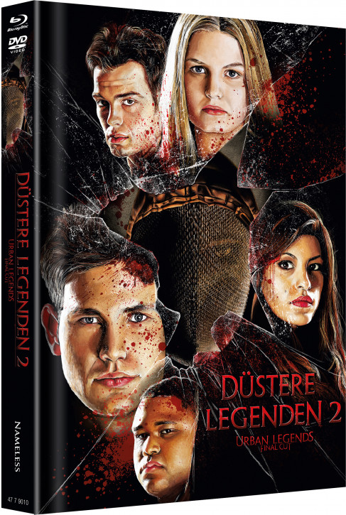Düstere Legenden 2 - Limited Mediabook Edition - Cover C [Blu-ray+DVD]
