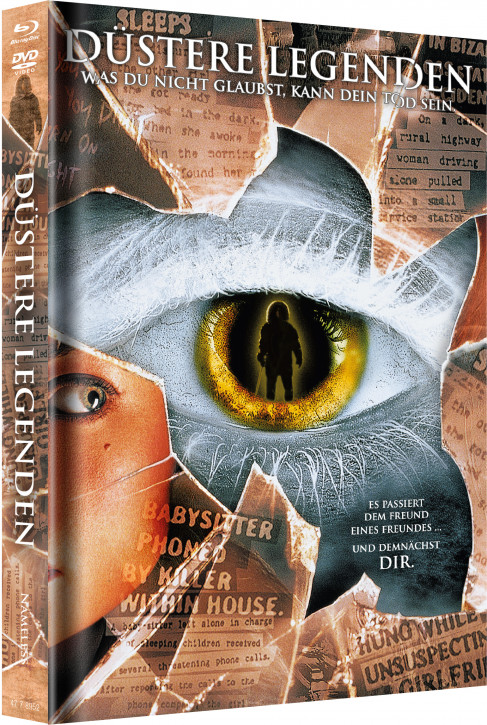 Düstere Legenden - Limited Mediabook Edition - Cover C [Blu-ray+DVD]