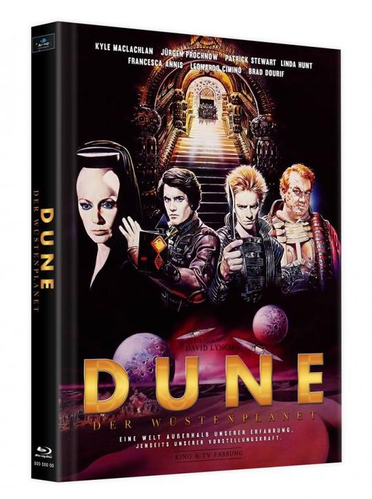 Dune - Der Wüstenplanet - Mediabook - Cover B [Blu-ray]