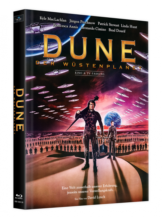 Dune - Der Wüstenplanet - Mediabook - Cover D [Blu-ray]