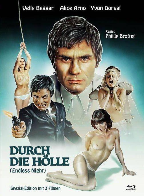 Durch die Hölle - Eurocult Collection #030 - Mediabook - Cover A [Blu-ray+DVD]