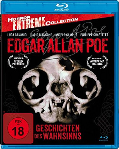 Edgar Allan Poe - Geschichten des Wahnsinns - Horror Extreme Collection [Blu-ray]