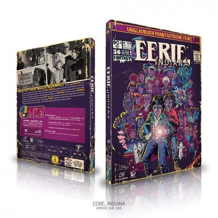 Eerie, Indiana - Die komplette Serie - Limited Mediabook Edition (Unglaublich Phantastische Filme-Collection #4) [DVD]