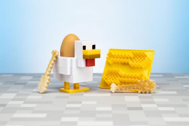 Eierbecher und Toastschneider - Minecraft: Huhn