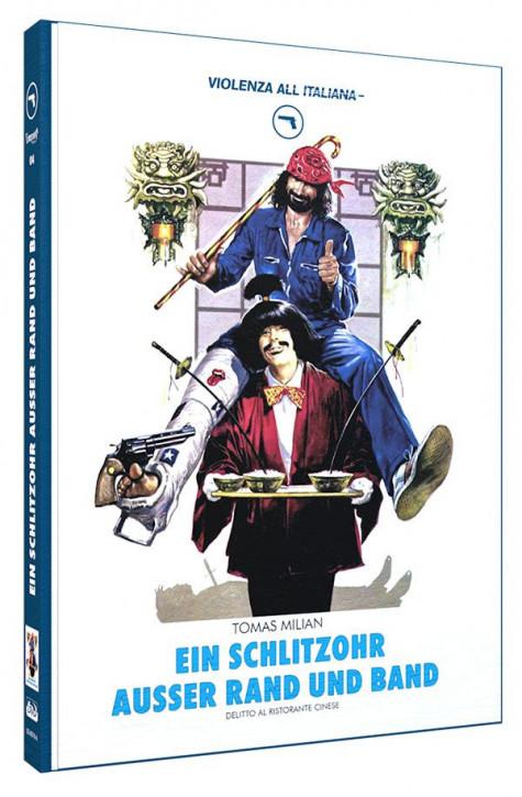Ein Schlitzohr ausser Rand und Band - Limited Mediabook Edition - Cover A [Blu-ray+DVD]