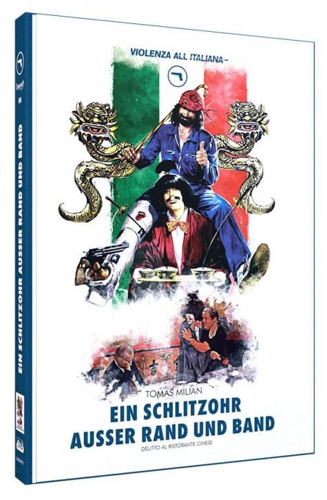 Ein Schlitzohr ausser Rand und Band - Limited Mediabook Edition - Cover C [Blu-ray+DVD]