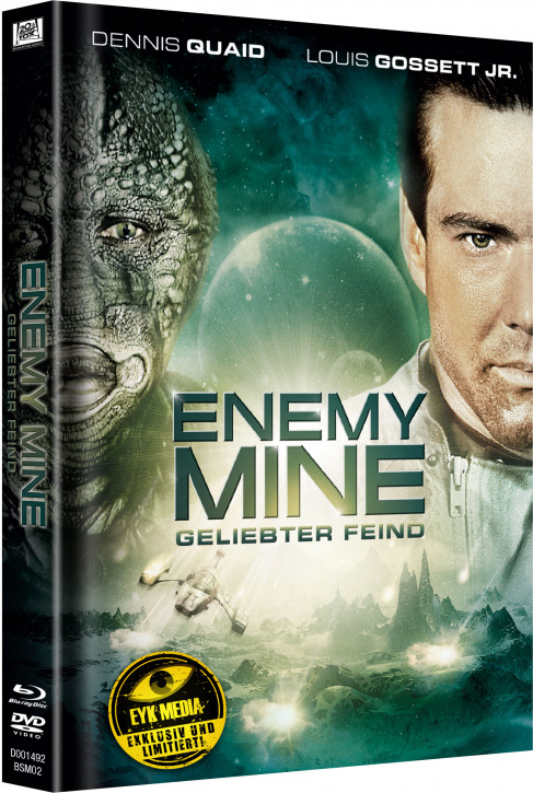 Enemy Mine - Geliebter Feind - Limited Mediabook Edition - Cover A [Blu-ray+DVD]