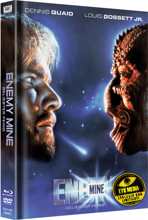 Enemy Mine - Geliebter Feind - Limited Mediabook Edition - Cover B [Blu-ray+DVD]