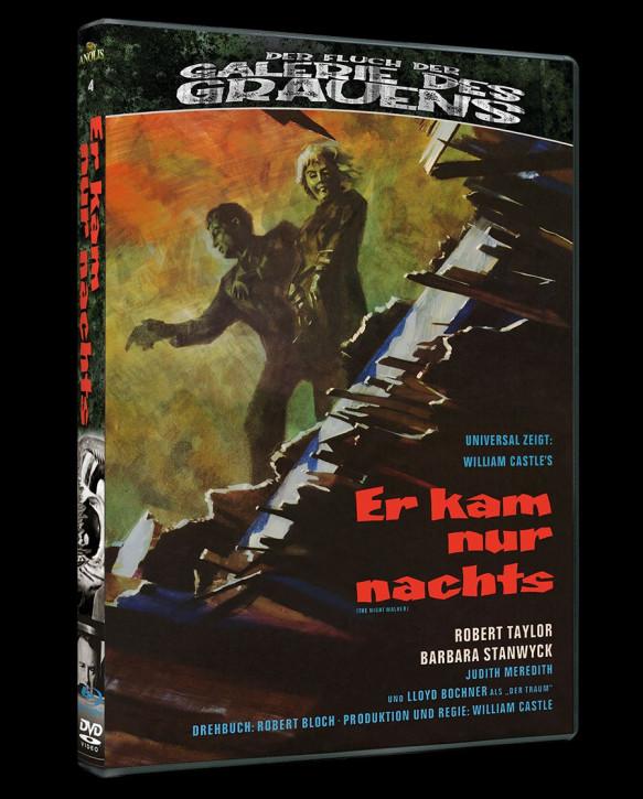 Er kam nur nachts - Der Fluch der Galerie des Grauens #4 [Blu-ray+DVD]