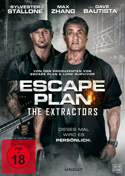 Escape Plan - The Extractors [DVD]