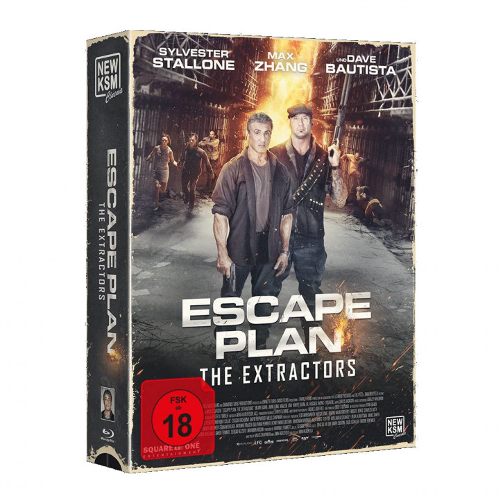 Escape Plan 3: The Extractors - Tape Edition [Blu-ray]