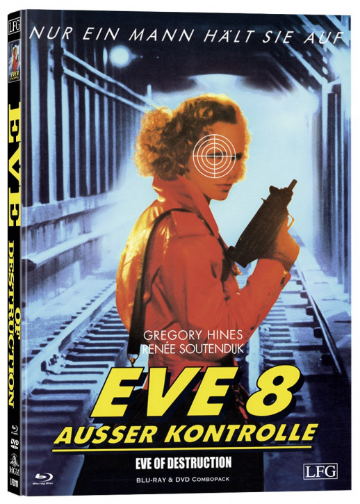 Eve 8 - Ausser Kontrolle - Mediabook - Cover A [Blu-ray+DVD]