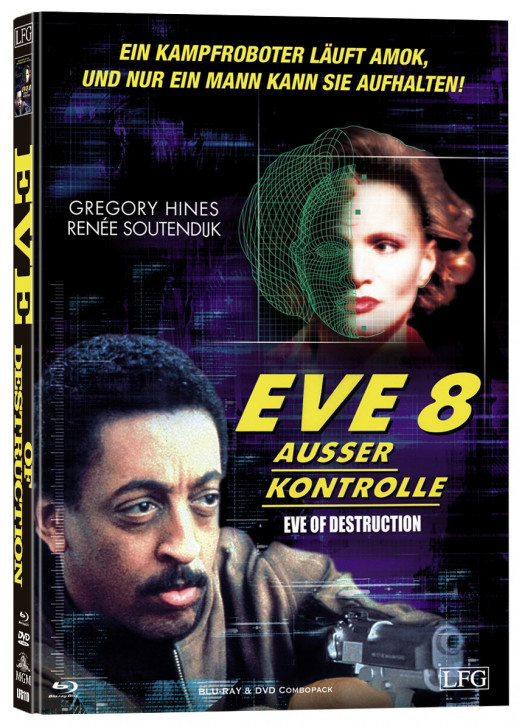 Eve 8 - Ausser Kontrolle - Mediabook - Cover B [Blu-ray+DVD]
