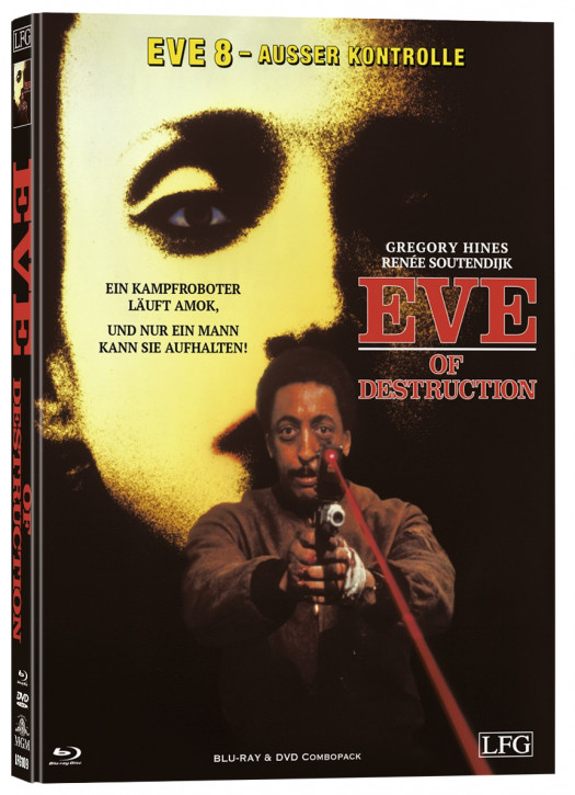 Eve 8 - Ausser Kontrolle - Mediabook - Cover C [Blu-ray+DVD]