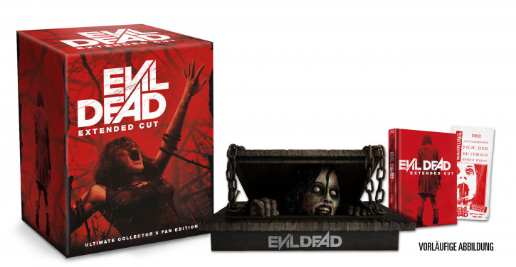 Evil Dead - Extended Cut - Ultimate Collector´s Fan Edition [Blu-ray]